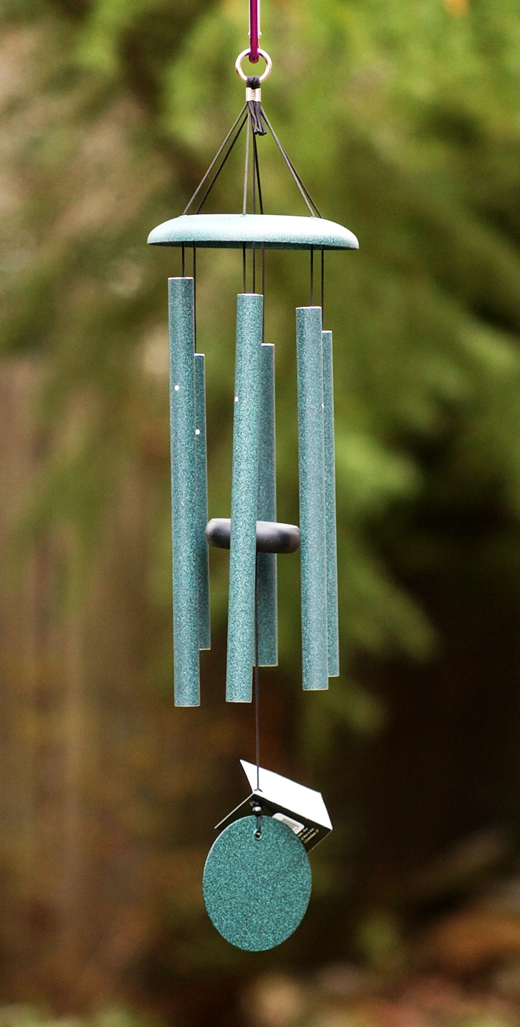 Garden Ornaments Grace Note Wind Chime Earth Song Small 36 Inch 1 S