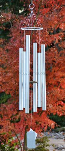 Grace Note 54 Inch Large Island Melody Wind Chimes